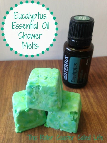 Eucalyptus Essential Oil Shower Melts