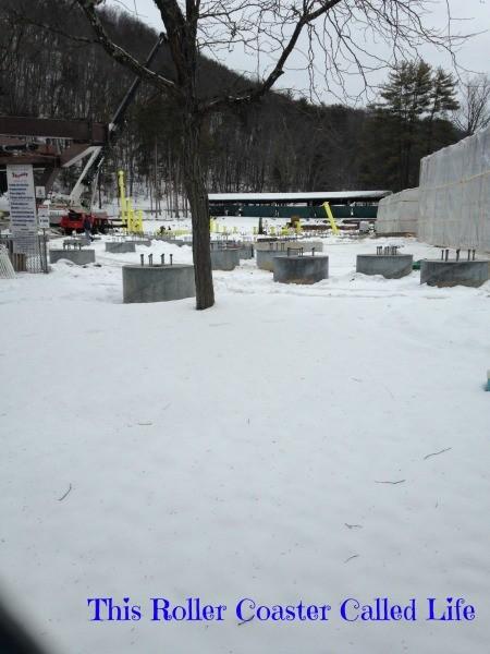 Footings in the Snow
