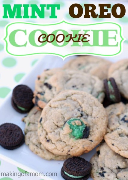 Mint Oreo Cookie in a Cookies