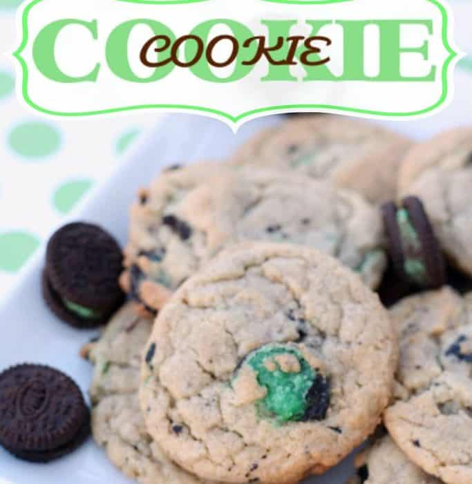 Mint Oreo Cookie in a Cookie