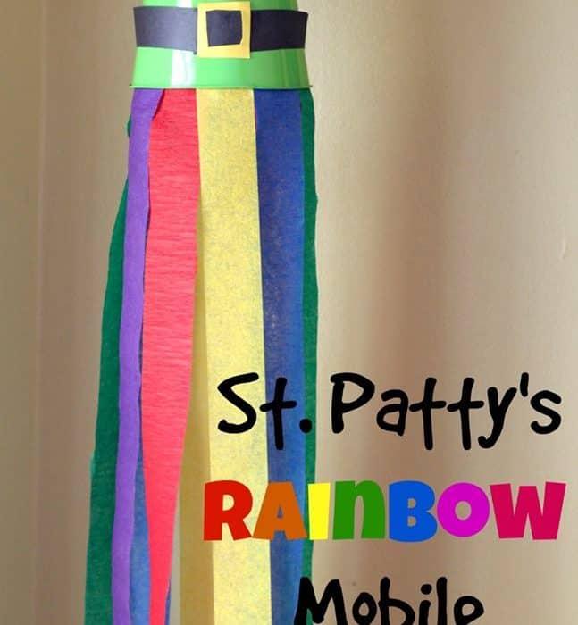 St. Patty's Rainbow Mobile