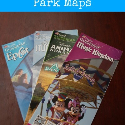 Freebies at the Disney Parks:  Park Maps