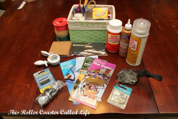 Walt Disney World Theme Park Map Crafting Supplies