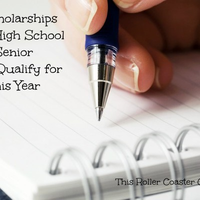 5 Scholarships Your Highschool Senior May Qualify for This Year