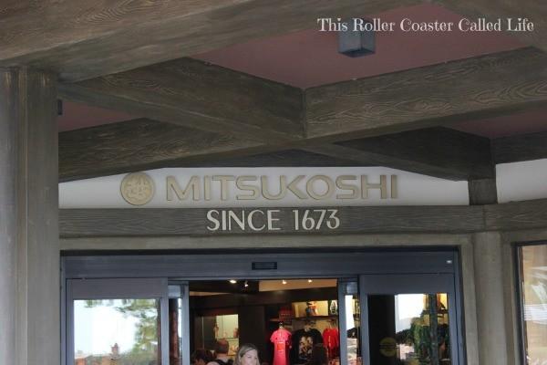 Shopping at Mitsukoshi in Japan