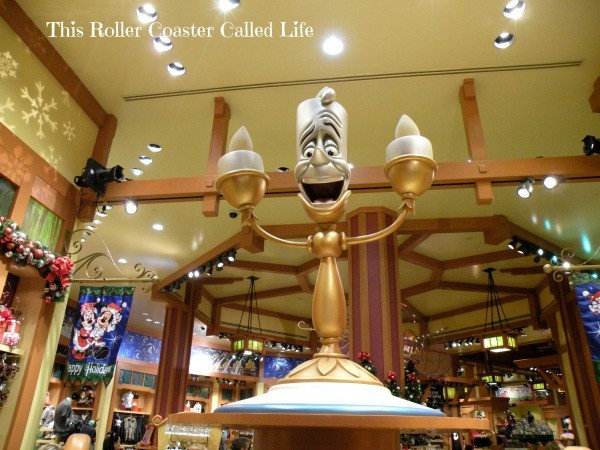 Shopping at the World of Disney in Downtown Disney