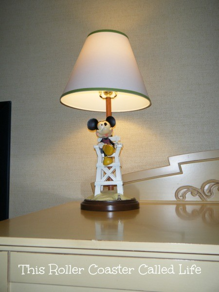 Lifeguard Mickey Mouse Lamp