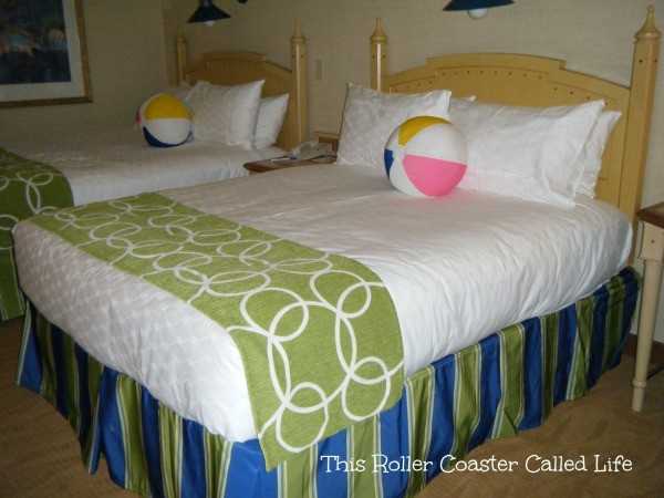 Paradise Pier Hotel Beds