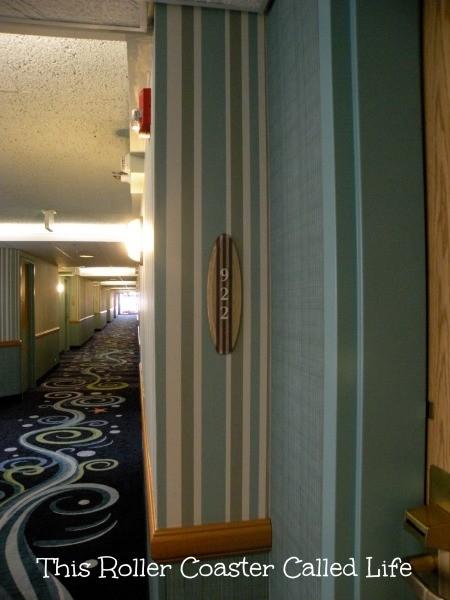 Paradise Pier Hotel Hallway