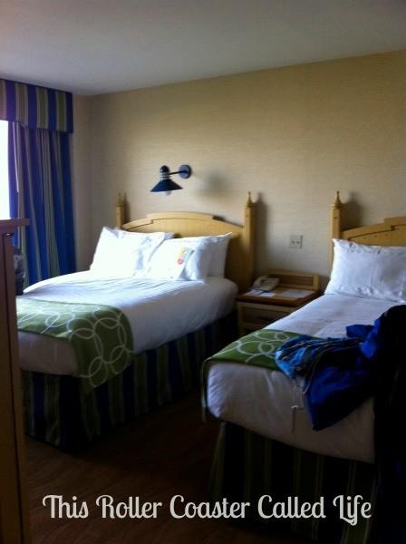 Disney Paradise Pier Hotel Family Suite Bedroom