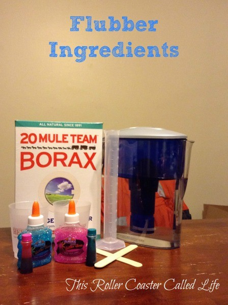 Flubber Ingredients