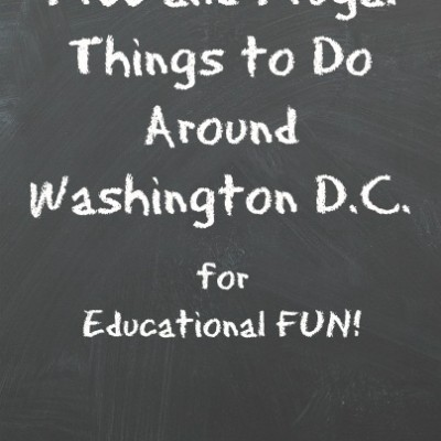 Free and Frugal Things to Do Around Washington D.C.