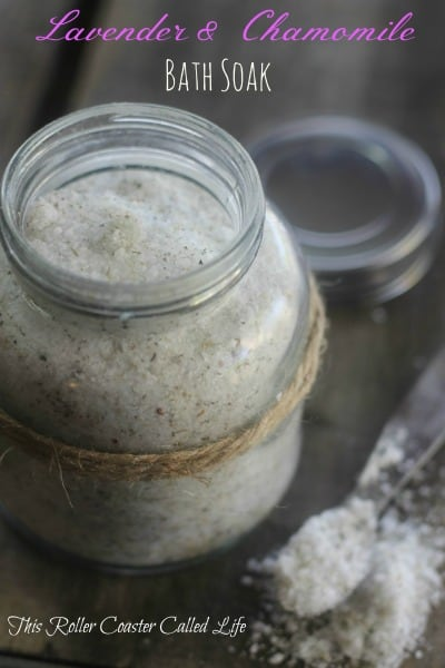 Lavender and Chamomile Bath Soak