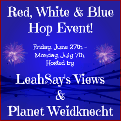 Red, White, and Blue Blog Hop Event