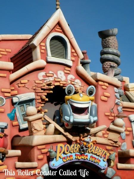 Roger Rabbits Car Toon Spin