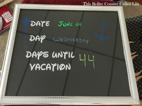 Vacation Countdown Complete