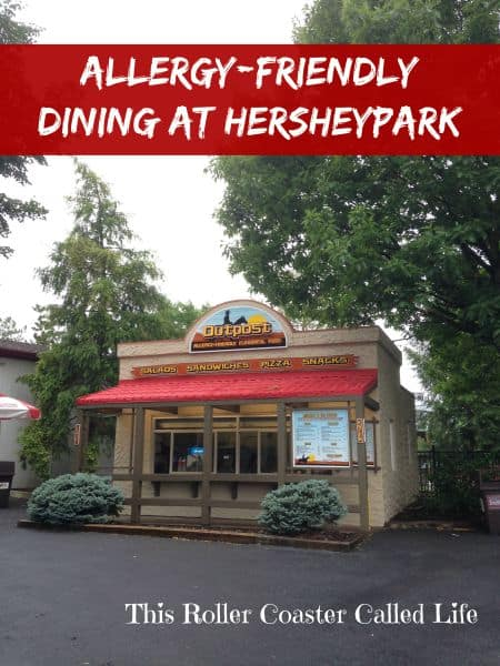 Allergy-Friendly Dining at Hersheypark  #HersheyparkHappy