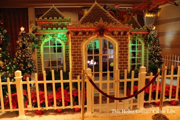 Disney Dream Gingerbread House
