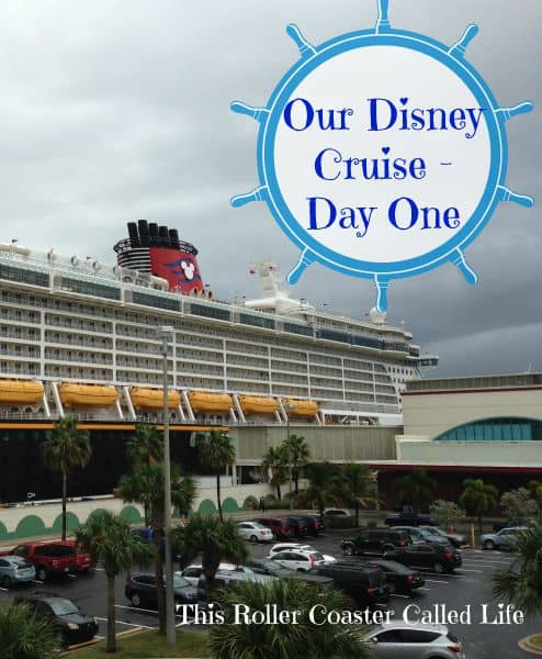 Our Disney Cruise – Day 1