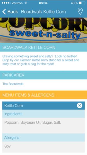 Hersheypark app 1