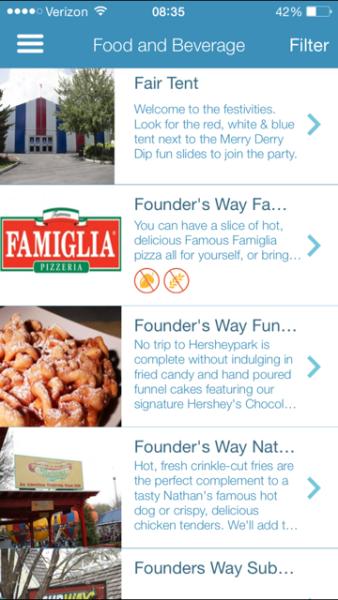 Hersheypark app 3