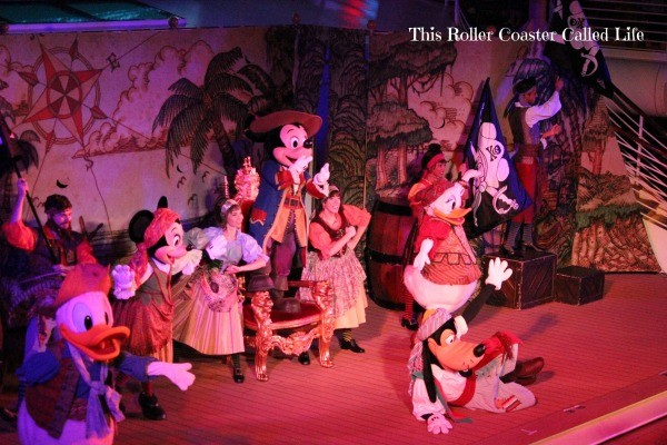 Pirate Night on the Disney Dream