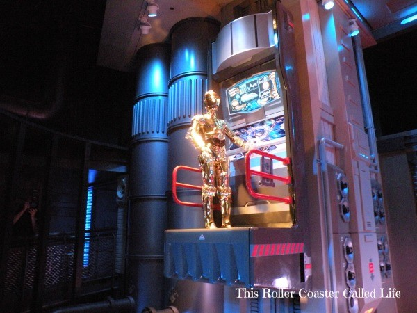 Star Tours The Adventures Contines C3PO