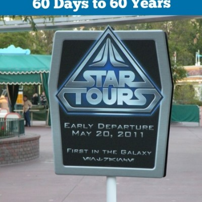Disneyland 60 Days to 60 Years:  Star Tours The Adventure Continues