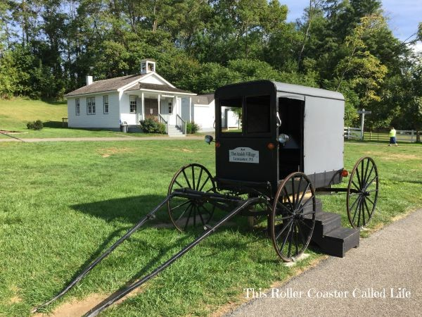 Amish Wagon at The Amish Village