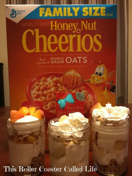 Cheerios Breakfast Parfait