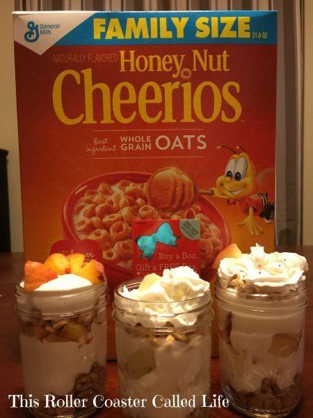 Cheerios Breakfast Parfait