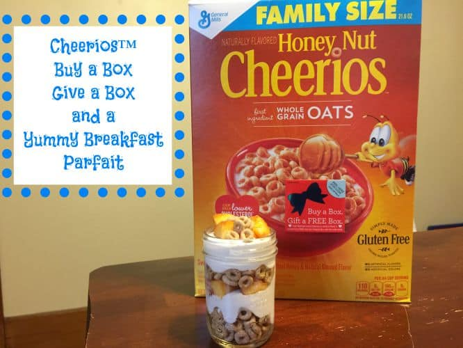 Fun Family Time Together with Cheerios™  #GiveABox