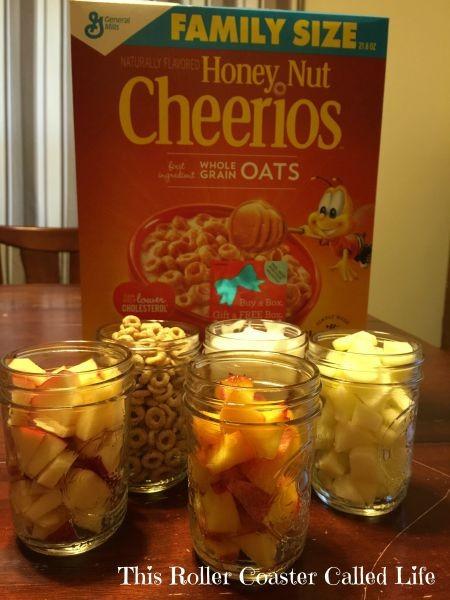 Cheerios Breakfast Parfait Ingredients