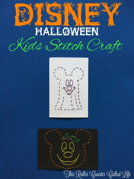 Disney Halloween Kids Stitch Craft