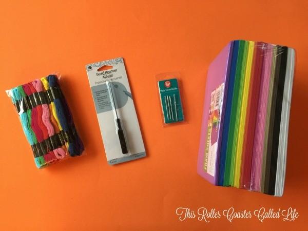 Disney Halloween Kids Stitch Craft Supplies