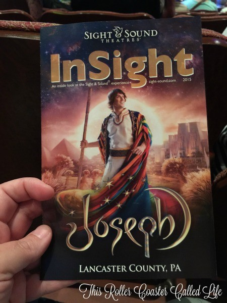 Joseph at Sight and Sound Theater
