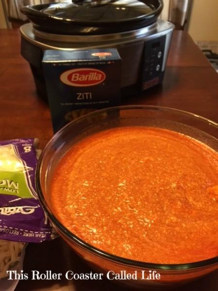 Making Sauce Mixture