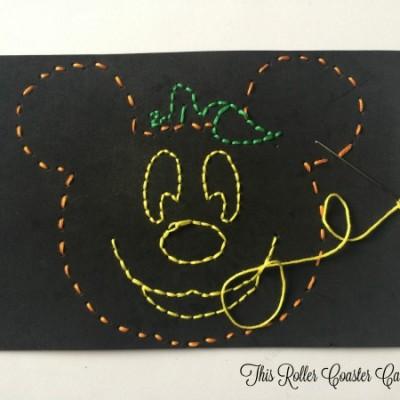 Disney Halloween Kids Stitch Craft