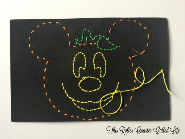 Mickey Pumpkin Complete