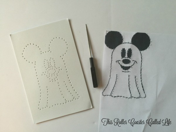 Preparing the Mickey Ghost 2