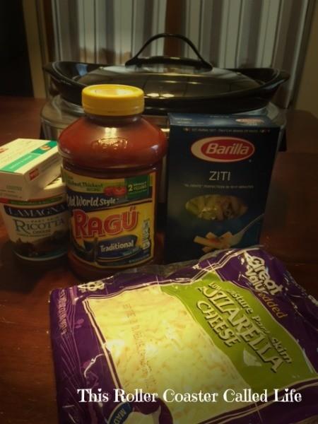 Ziti Ingredients