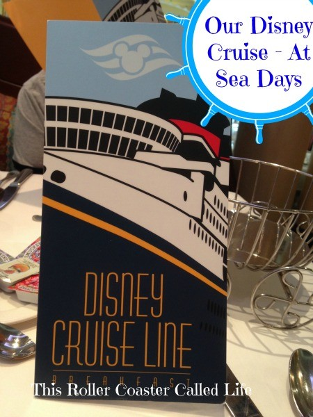 Disney Cruise Line Breakfast Menu