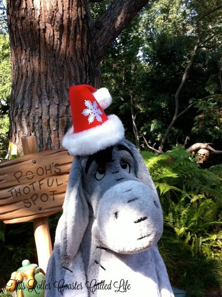 Eeyore with a Santa Hat