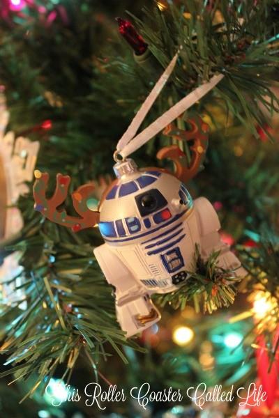 Hallmark R2D2 Reindeer Ornament