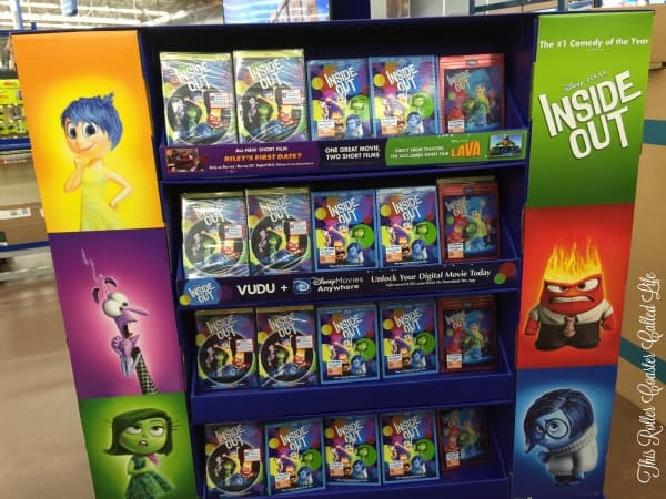 Inside Out at Walmart – #InsideOutEmotions