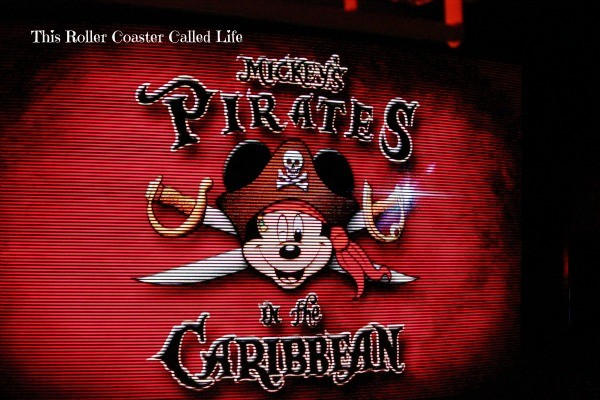 Pirates in the Caribbean Sign