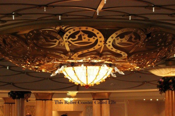 Disney Dream Royal Palace Chandelier