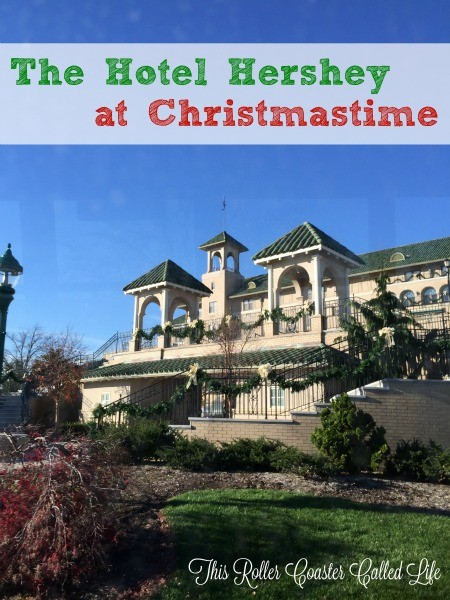 The Hotel Hershey at Christmastime