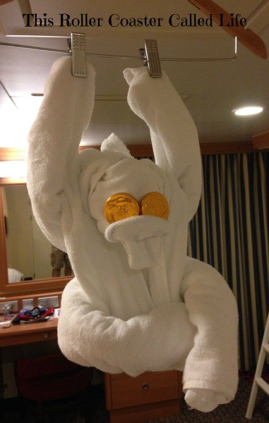 Stateroom Towel Animal Monkey