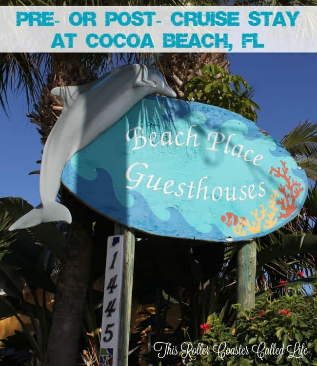 Beach Place Guesthouses at Cocoa Beach, FL